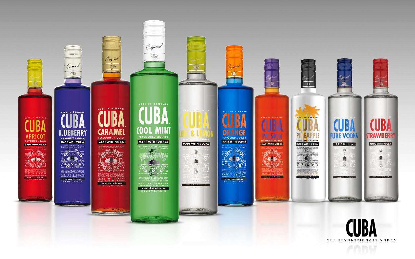Cuba Vodka | DrinksMeister - Drinks & Cocktails, Drinksopskrifter, Rom, Gin, Vodka, Tequila