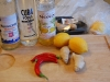 Shot til julefrokosten - med mango, chili og ingefær