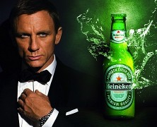 James Bond udskifter sin martini?