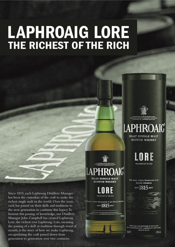 Laphroaig Lore Sell Sheet