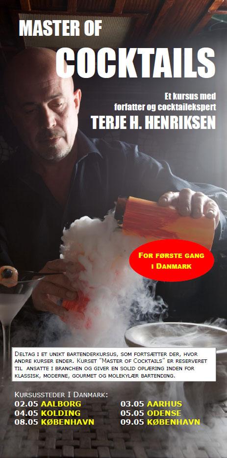 Master of Cocktail - Kursus i bl.a. Molekylær Bartending