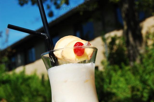 Ginger Colada - Alkoholfri drink med kokoscreme og ingefær