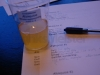 Ufiltreret æblejuice-most - Blindsmagning april 2009