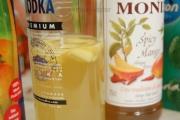 Infused vodka med ingefær og spicy mango