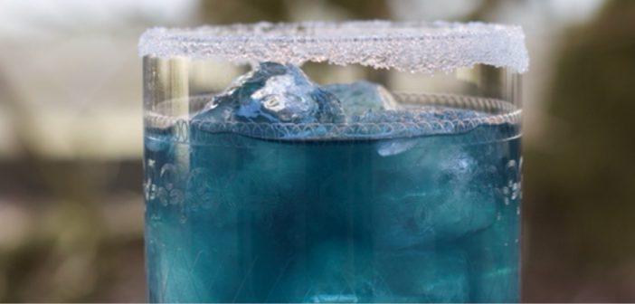 Dirty Blue Margarita.