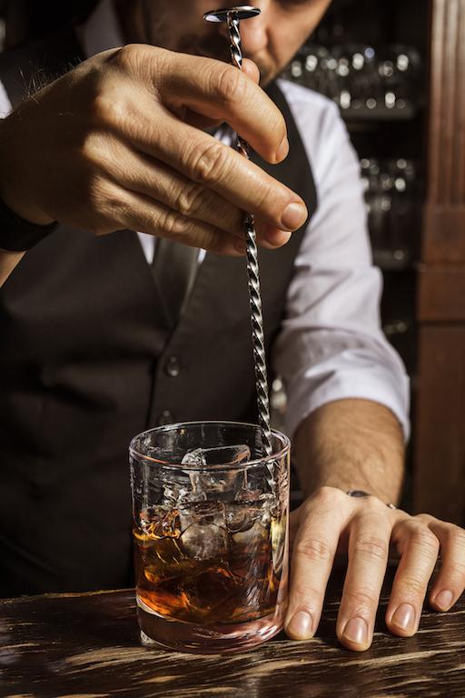 Dew cocktail