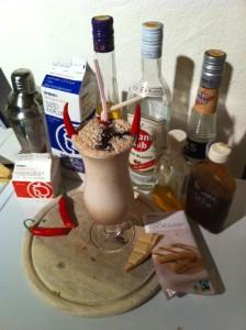 Lækker drink lavet af Kris Olsson.
