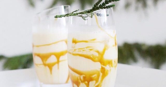 Cocktail friday – salted caramel White russian